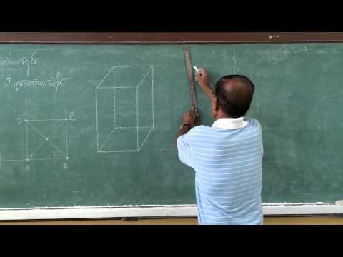 การสร้างรูปเรขาคณิตสามมิติ 2
