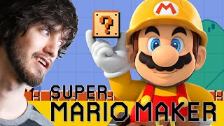 Super Mario Maker - PBG vs. PROJARED'S LEVEL!
