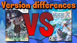 Rodea The Sky Soldier: Wii Vs Wii U - Version Differences