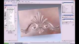 getlinkyoutube.com-3D ArtCAM 2012 программы для фрезерные станки с чпу по дереву