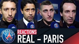 REACTIONS : REAL MADRID 3 - 1 PARIS SAINT-GERMAIN