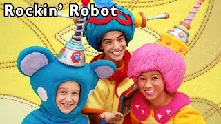 getlinkyoutube.com-Robot Dance Party | Rockin' Robot and More | Baby Songs from Mother Goose Club!
