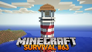 getlinkyoutube.com-Minecraft Survival #63: Construindo o Farol!