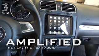getlinkyoutube.com-iPad mini installed into the dash of a Lexus ES400h and a VW GTI, Quick release, Float Mount, EP 83