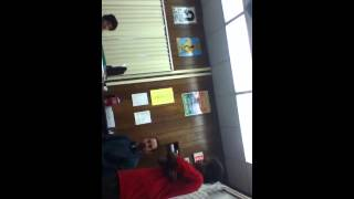 8th Grader Yelling At Teacher
