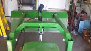 John Deere 322 with loader