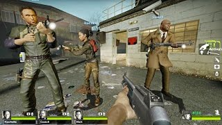 getlinkyoutube.com-Left 4 Dead 2 - 25 to Life Custom Campaign Gameplay Playthrough