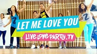 getlinkyoutube.com-Let Me Love You [WATCH ON COMPUTER]   Zumba®   Dance Fitness   Live Love Party