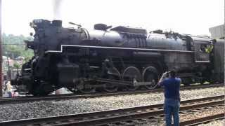 Nickel Plate 765 Wheelslip Williamson, WV [HD]