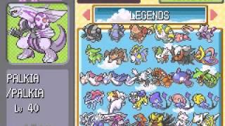 getlinkyoutube.com-Pokemon Light Platinum - All Legendaries