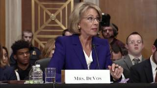 Senator Murphy Questions Betsy DeVos during Education Secretary Hearing
