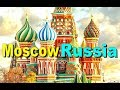 RED SQUARE KREMLIN Palace kremlinMoscow Russia Tourism Backpacker [HD]