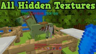 getlinkyoutube.com-Minecraft Xbox One + PS4 - Secret Blocks Hidden Textures
