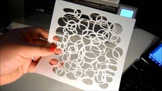 Cutting Stencils with your Cameo