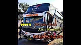 PROFIL Si Gila Balap HR 027 GOLDEN RATIO - HINO RK8 R260