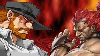 getlinkyoutube.com-MUGEN - Chuck Norris VS. Rare Akuma [HQ - 480p]