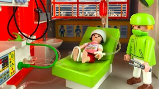 getlinkyoutube.com-Playmobil Children's Hospital Lindy's Skateboarding Accident