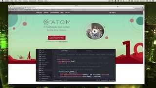 getlinkyoutube.com-Extra: Setting up the Atom Editor for Python