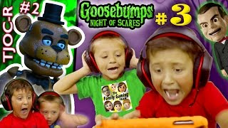 getlinkyoutube.com-GOOSEBUMPS NIGHT of JUMP SCARES Part 3 w/ FNAF TJOC Reborn Part 2 (FGTEEV Mike & Chase)