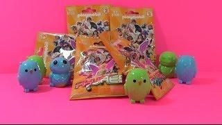 getlinkyoutube.com-Surprise Eggs Blind Bag Playmobil (#5158) Orange Fi?ures Orange Blind Bag Fi?ures