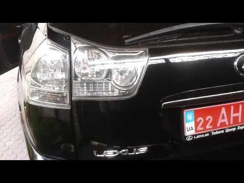 Lexus RX 300. Закрытие багажника с кнопки.Для ленивых!!!