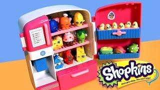 getlinkyoutube.com-SHOPKINS FRIDGE So Cool Refrigerator & Freezer Season2 NEW 2015 by DisneyCollector