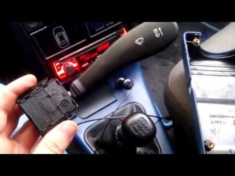 Подрулевые переключатели на ВАЗ 2110 нового образца.