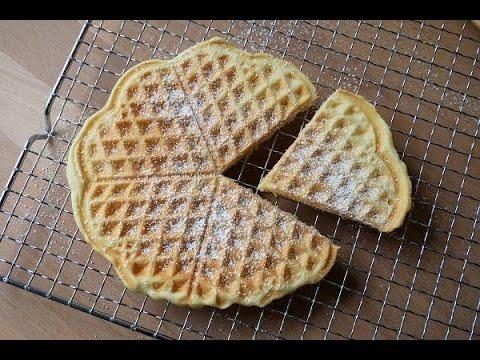 Waffeln Backen (Rezept) || Baking Waffles (Recipe) || [ENG SUBS]