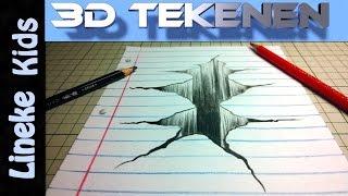 getlinkyoutube.com-Hoe teken je een Ravijn in je papier / 3D tekenen #19