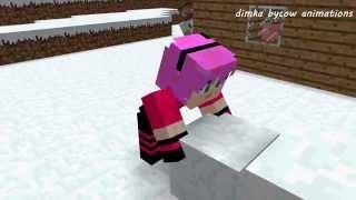 getlinkyoutube.com-Диллерон и Миникотик. Малыш Эндермен. Minecraft Мультики про Летсплейщиков (Майнкрафт Анимация)