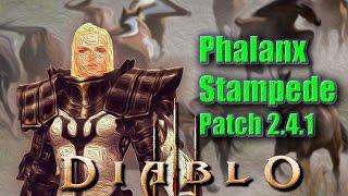 getlinkyoutube.com-Diablo 3 [PTR Patch 2.4.1]Crusader Build►Phalanx Stampede Akkhan