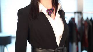 getlinkyoutube.com-How Women Should Not Wear a Business Suit : Business Fashion & More