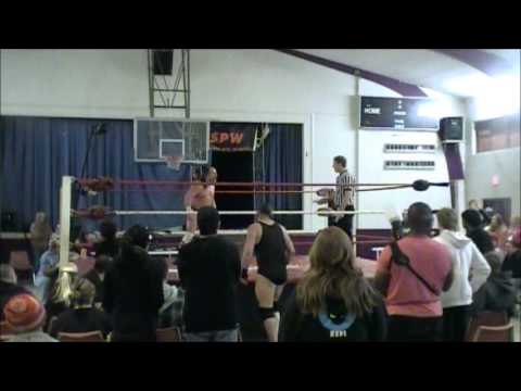 SPW Barefoot Thumbtack Match Sir Samurai Vs Bobby Hart for the SPW Title