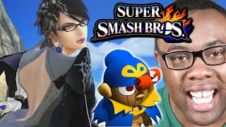 getlinkyoutube.com-BAYONETTA & GENO in SMASH BROS : Black Nerd