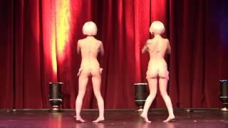 getlinkyoutube.com-05 Sabra & Kierstin JohnSin- Cirque du Burlesque Jan 2013
