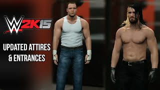 getlinkyoutube.com-WWE 2K15 - Updated Dean Ambrose & Seth Rollins Attires & Entrances ✦【PS4 / XBOX ONE / Next Gen】