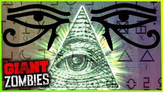 getlinkyoutube.com-The Giant Zombies ILLUMINATI 'Living Dead'' EASTER EGG - Black Ops 3 Zombies (BO3 Secrets)