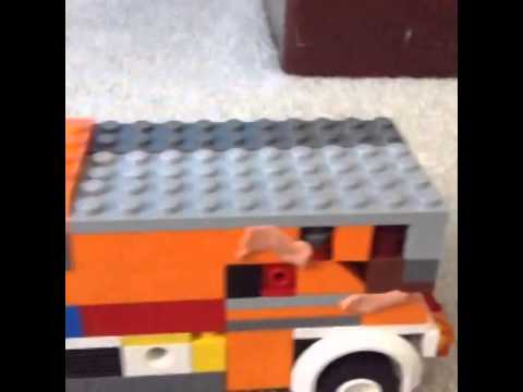 The Heist (A Lego Stop Motion)