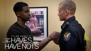 Jeffery and Officer Justin | Tyler Perry's The Haves and the Have Nots | OWN