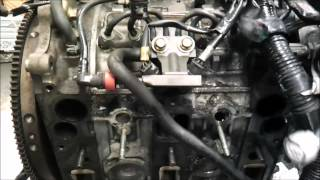 getlinkyoutube.com-Mazda RX8 engine disassembly