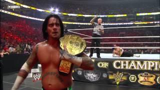 Jeff Hardy vs. CM Punk - World Heavyweight Championship Match: Night of Champions July 26, 2009