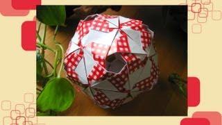 getlinkyoutube.com-Origami ♦  Quasar ♦  Kusudama