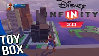 getlinkyoutube.com-Disney Infinity 2.0 Marvel Super Heroes - Toy Box Mode Gameplay