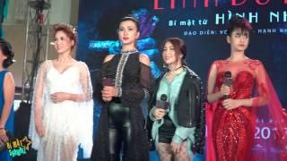 getlinkyoutube.com-[8VBIZ] - Trương Quỳnh Anh, Hòa Minzy, Kim Tuyến giao lưu ra mắt phim kinh dị Linh Duyên
