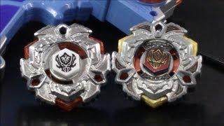 getlinkyoutube.com-3 EPIC Beyblade Battles Variares 145WB (Hasbro) VS Variares D:D (Takara Tomy) HD (right spin)!