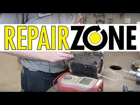 Servo Motor Repair Process at REPAIR ZONE