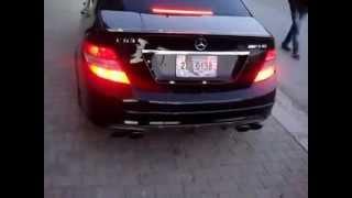 getlinkyoutube.com-Mercedes Benz C63 Amg à Oran