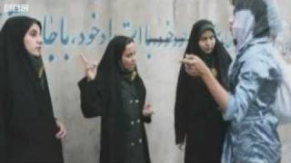 getlinkyoutube.com-Traffic police regulate Iran's dress code