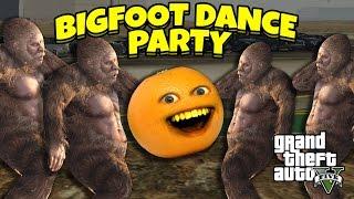 getlinkyoutube.com-Annoying Orange - GTA V: Bigfoot Dance Party!