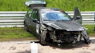 getlinkyoutube.com-BIG Crash & Fail Compilation 2015 Nürburgring Nordschleife